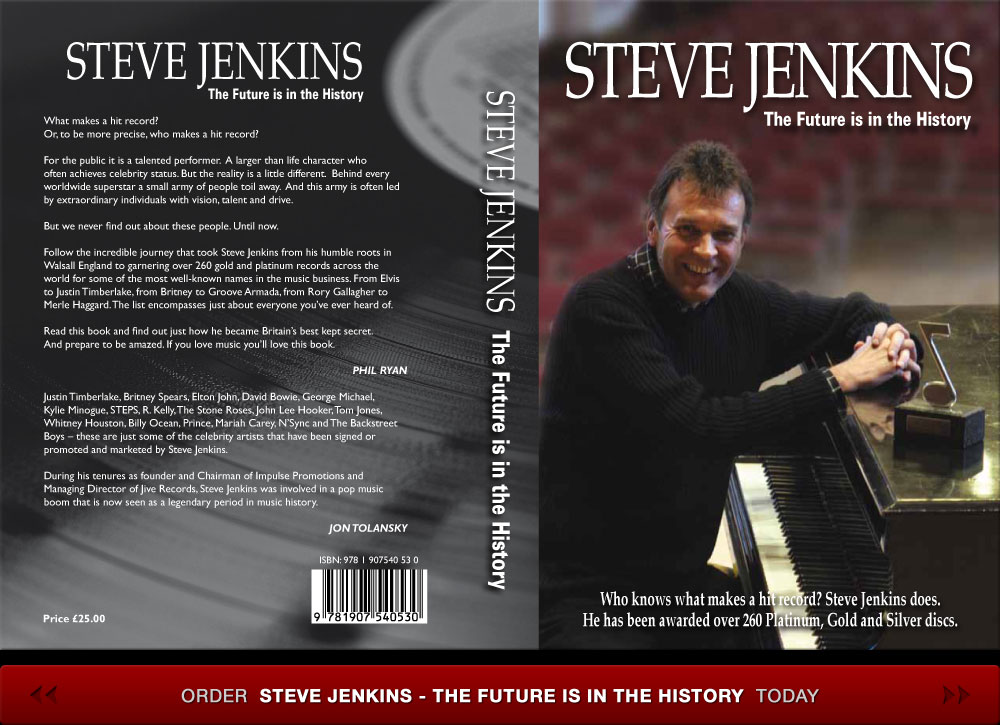 Order Steve Jenkins - The Future Is In The History today
